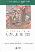 A Companion to Gender History 1st edition 9780631223931 0631223932