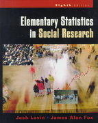 Elementary Statistics in Social Research 8th edition 9780321044600 0321044606