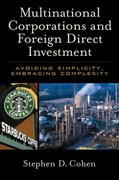 Multinational Corporations and Foreign Direct Investment 0 9780195179361 0195179366