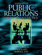 Public Relations 7th edition 9780205360734 0205360734