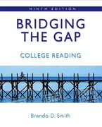Bridging the Gap 9th Edition 9780321446022 032144602X