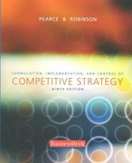 Formulation, Implementation, and Control of Competitive Strategy 9th edition 9780072980080 0072980087