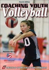 Coaching Youth Volleyball 4th edition 9780736068208 0736068201