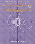 Elementary Differential Equations and Boundary Value Problems 6th edition 9780471135821 0471135828