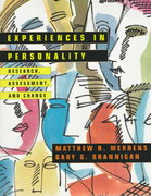 Experiences in Personality 1st Edition 9780471139379 0471139378