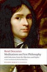 Meditations on First Philosophy 1st Edition 9780192806963 0192806963