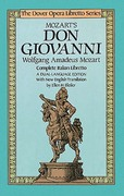 Mozart's Don Giovanni 1st Edition 9780486249445 0486249441