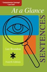 At a Glance: Sentences 4th edition 9780618957798 0618957790