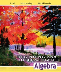 Student Solutions Manual for Beginning and Intermediate Algebra 4th edition 9780321449542 0321449541