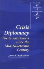 Crisis Diplomacy 1st Edition 9780521459877 0521459877
