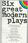 Six Great Modern Plays 1st Edition 9780440379843 0440379849