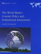 The World Bank's Country Policy and Institutional Assessment 0 9780821384275 0821384279