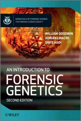 An Introduction to Forensic Genetics 2nd Edition 9780470710197 0470710195