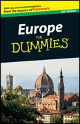 Europe For Dummies 6th edition 9780470881491 0470881496