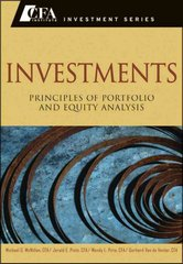 Investments 1st edition 9780470915806 0470915803
