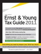 The Ernst and Young Tax Guide 2011 26th edition 9781879161009 1879161001