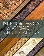 Interior Design Materials and Specifications 2nd Edition 9781609012298 1609012291