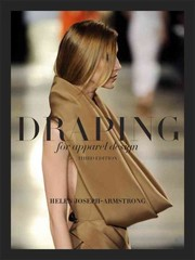 Draping for Apparel Design 3rd Edition 9781609012403 1609012402