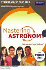 MasteringAstronomy with Pearson eText Student Access Code Card for Astronomy Today 7th edition 9780321705983 032170598X