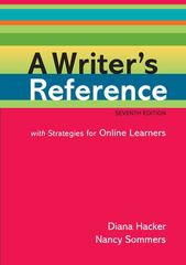A Writer's Reference with Strategies for Online Learners 7th edition 9780312551995 0312551991