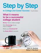 Step by Step to College and Career Success 4th edition 9780312638016 0312638019