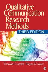 Qualitative Communication Research Methods 3rd Edition 9781412974738 1412974739