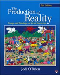 The Production of Reality 5th Edition 9781412979443 1412979447