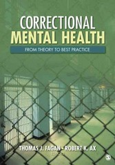 Correctional Mental Health 1st Edition 9781452223476 1452223475