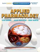 Applied Pharmacology 1st edition 9781437703108 1437703100