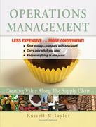 Operations Management: Creating Value Along the Supply Chain 7E Binder Ready Version 7th edition 9780470922514 0470922516
