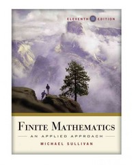 Finite Mathematics 11th Edition 9780470458273 0470458275
