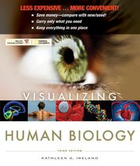 Visualizing Human Biology, Third Edition Binder Ready Version 3rd edition 9780470917497 0470917490