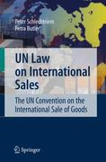 UN Law on International Sales 1st edition 9783540253143 3540253149