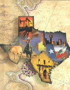 The Story of Texas 97th edition 9780153020414 0153020415