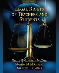 Legal Rights of Teachers and Students 3rd Edition 9780132619431 0132619431