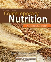 Contemporary Nutrition: A Functional Approach 2nd Edition 9780073402536 0073402532