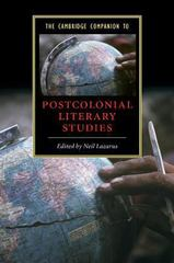 The Cambridge Companion to Postcolonial Literary Studies 1st Edition 9780521534185 0521534186