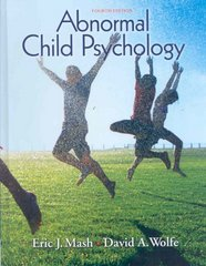 Abnormal Child Psychology 4th edition 9780495506270 0495506273