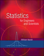 Statistics for Engineers and Scientists 0th edition 9780072551600 0072551607