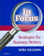 In Focus: Strategies for Business Writers 0 9780472030743 0472030744