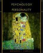 Psychology of Personality 1st Edition 9780534350192 0534350194