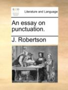An Essay on Punctuation 0 9781170528631 1170528635