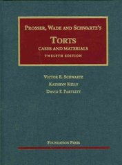 Cases and Materials on Torts 12th Edition 9781599417042 1599417049