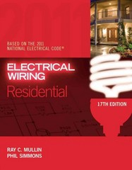 Electrical Wiring Residential 17th edition 9781435498266 1435498267