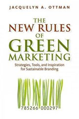 The New Rules of Green Marketing 1st Edition 9781605098661 1605098663