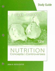 NASM Study Guide Chapter 17 – Nutrition