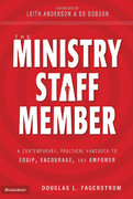 The Ministry Staff Member 1st Edition 9780310855446 0310855446