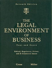 The Legal Environment of Business 7th Edition 9780324590005 0324590008