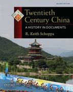 Twentieth Century China 2nd Edition 9780199732005 0199732000