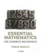Essential Mathematics for Economics and Business 3rd edition 9780470018569 0470018569